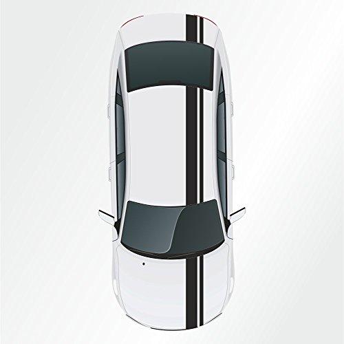 Kiwistar - Strisce adesive a vipera, Rally Racing, 23 x 400 cm
