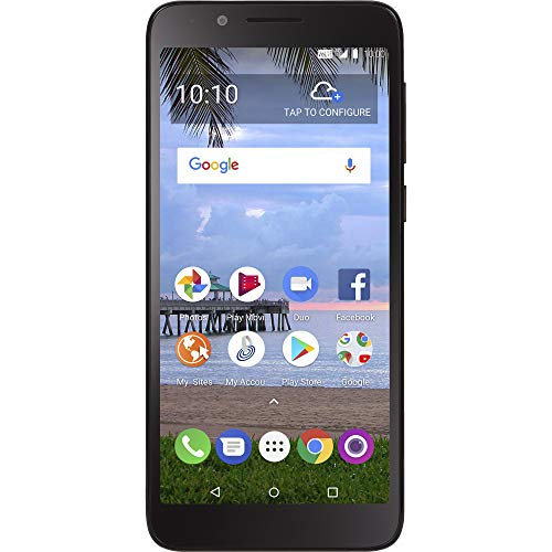 Simple Mobile TCL LX 4G LTE Prepaid Smartphone (Locked) - Black - 16GB - Sim Card Included - GSM