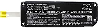 3400mAh Replacement Battery for Bose Soundlink Mini 2, Bose 088789, 088796, 088772