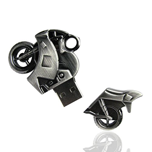 Shooo 32GB Strong Metallo Motociclo Chiavetta USB Memory Stick