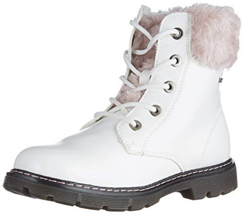 TOM TAILOR Dziewczęce 9071606 półdługie kozaki, biały - biały - 39 eu