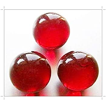 SOOTHING IDEAS 1kg Glass Marbles Red 16mm approx 180