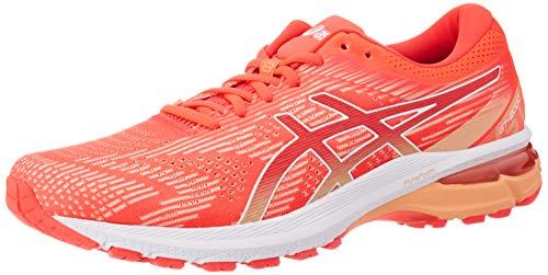 ASICS Damen Gt-2000 8 Running Shoe, Diva Pink/White, 39 EU