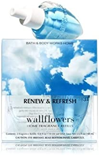 【Bath&Body Works/バス&ボディワークス】 ホームフレグランス 詰替えリフィル(2個入り) リニュー&リフレッシュ Wallflowers Home Fragrance 2-Pack Refills Renew & Refresh [並行輸入品]