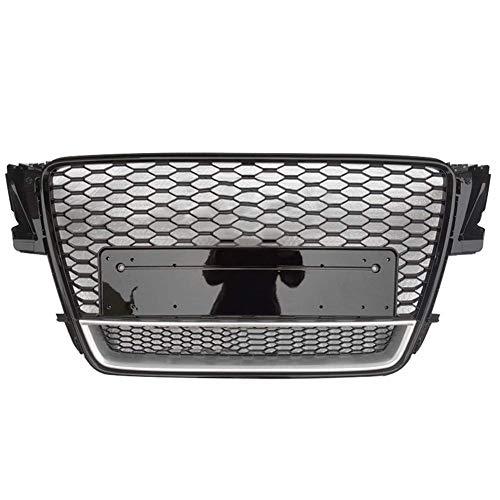 Xinshuo Griglia anteriore in ABS con griglia a nido d'ape per RS5 Style A5 / S5 2008-2011
