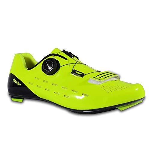 OOFAY Zapatos De Ciclismo De Carretera Hombres Antideslizantes para Exteriores E3 Fibra...