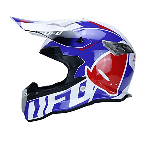 ZHXH The Latest Bicycle Mountain Bike DH Racing Helmet Off-Road Motorcycle Helmet Best Head Protection Extreme Sports Goods,18,L