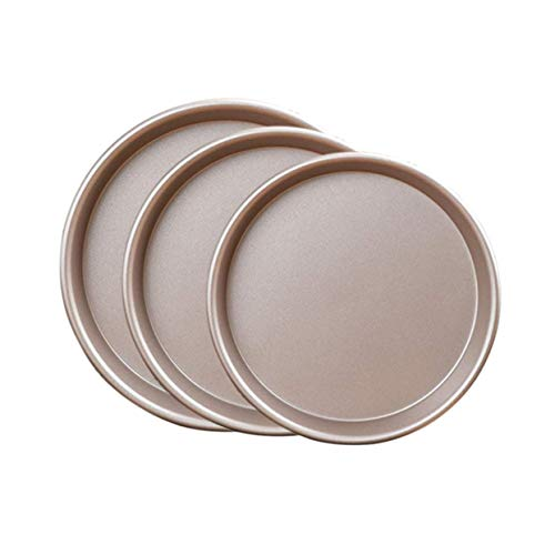 ZUNH2 Moule à Tarte/Quiche cannelé Anti-adhésif pour Tarte, gâteau et Pizza 15,2 cm