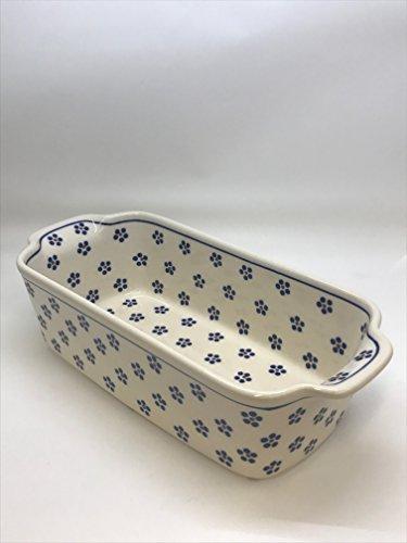 Bunzlauer Keramik Single Auflaufform rechteckig 26,50 x 12,50 x 7,20 cm Dekor 225