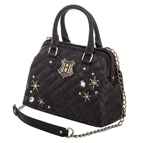 Harry Potter Purse Back To Hogwarts Quilted Embellished Handbag Shoulder Satchel