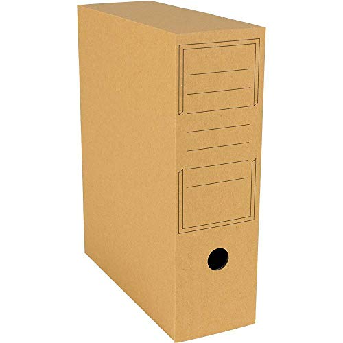 Archiv-Ablagebox braun 322 x 100 x 263 mm Archiv Karton 20 x