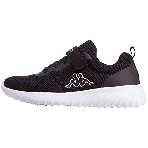 Kappa Jungen Ces Sneaker, 1110 Black White, 27 EU