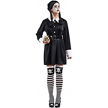 Disfraz de Colegiala Siniestra para mujer: Amazon.es: Juguetes y ...