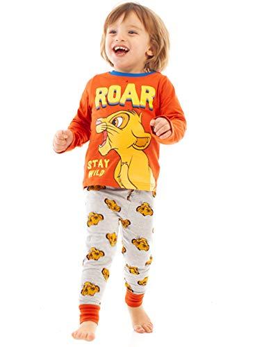 Disney Rey  león Simba Rugido Niños/Niños Largo Rojo