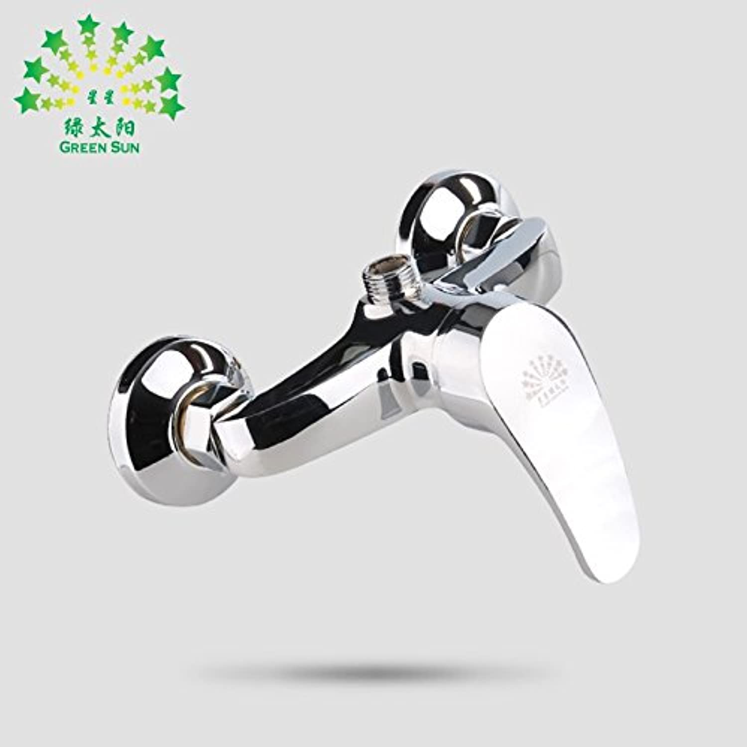 Bijjaladeva Antique Bathroom Sink Vessel Faucet Basin Mixer Tap Bath shower hot and cold warm water faucet single shower full copper plated stainless shower room wall.