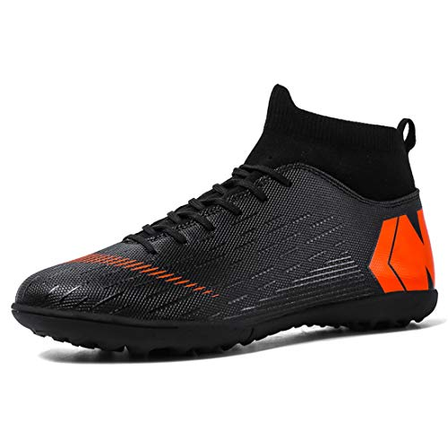 LIAOCX Men's Soccer Boots Shoes TF/AG Athletic Sneaker...
