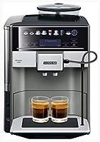 Siemens TE655203RW EQ.6 plus s 500, Wolnostojący Ekspres Do Espresso, 1500 W, 1,7 L, Czarno/Srebrny