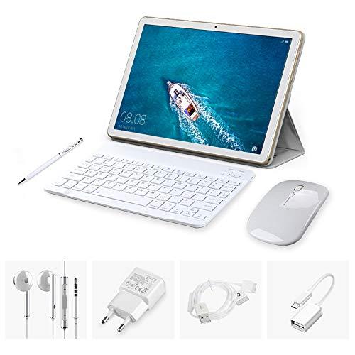 Tablette Tactile Pas Cher 10.1 pouces HD 4G Double Carte SIM Standard(3Go RAM+32Go Rom) avec Accessories