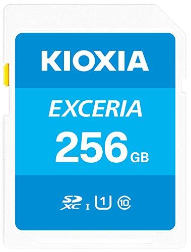 Kioxia 256GB Exceria SD Memory Card SDXC UHS-I U1 Class 10 Read 100MB/s LNEX1L256GG4