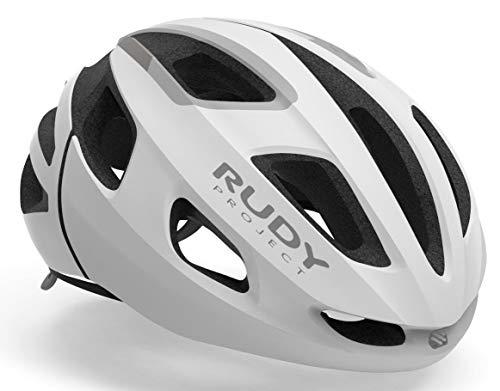 Rudy Project Strym Helm White Stealth Matte Kopfumfang S-M | 55-58cm 2021 Fahrradhelm