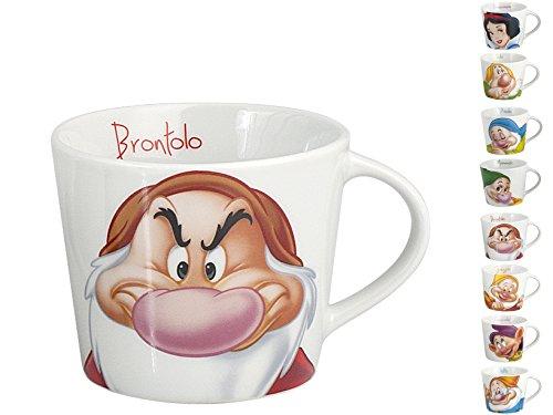 HOME Taza de té Original de Disney, Blancanieves y los 7enanitos (versión en Italiano), aleatoria