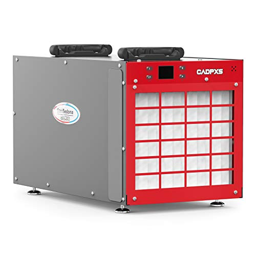 CADPXS SaniSedona 180 Pint Crawl Space dehumidifier, Commercial Dehumidifier with Built- in Pump, for Medium to Large Rooms and Basements, Removes Unwanted Moisture, Optional Remote Monitoring