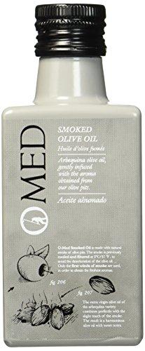 O-MED Natives Olivenöl Arbequina geräuchert, 1er Pack (1 x 250 ml)