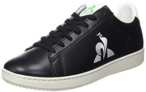 Le Coq Sportif Gaia, Zapatillas Deportivas Unisex Adulto, Black, 40 EU