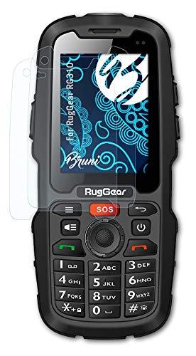 Bruni Schutzfolie kompatibel mit RugGear RG310 Folie, glasklare Bildschirmschutzfolie (2X)