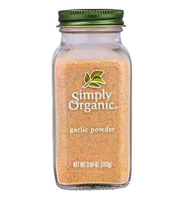 Simply Organic Garlic Powder ORGANIC 3.64 oz bottle (a) by Simply Organic