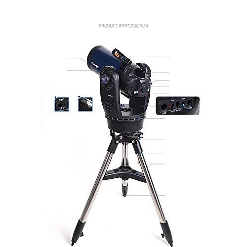 ZXF HD de alta definición profesional de estilo Cassegrain automática Star Search telescopio astronómico del espacio profundo Pantalla de temperatura segura y precisa