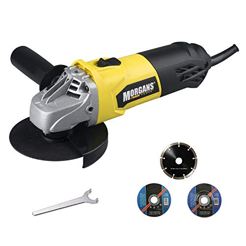 710W 240V Corded Angle Grinder with 115mm Heavy Duty...