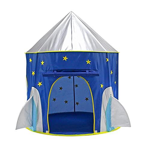 Basinnes Carpa para Niños Carpa Portátil para Nave Espacial Carpas para Niños para Interiores Carpa para Juegos Casa Carpa para Alberca De Bolas para Niños Juguetes para Exteriores