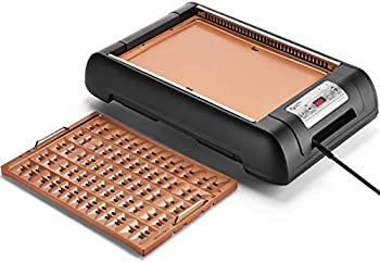 Magic-Mill Electric Smokeless Grill and Griddle Pan