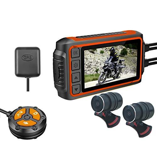 Huante Dash Cam Videocamera DVR FHD 1080P Registratore da 3 Pollici Box WiFi GPS Tracker Logger Impermeabile con Scheda di Memoria 32G