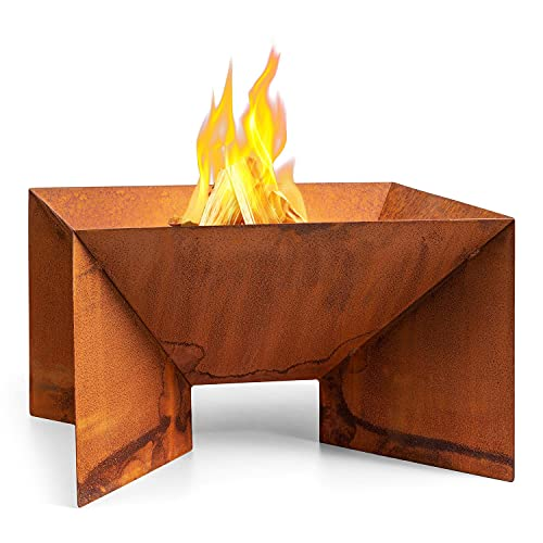 barbecue a carbonella 100 cm blumfeldt Desert Rust - Braciere