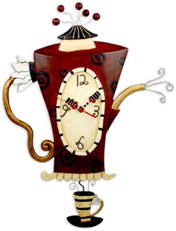 Steamin' Tea Clock Allen Studio Designs