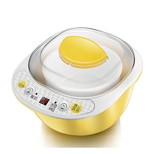 ZSQAI Joghurtmaschine - Automatische Reisweinmaschine für den Haushalt, Keramiksiegel