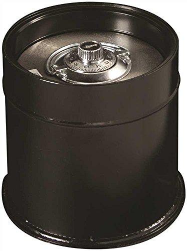 AMSEC C3U Star Round Lift-Out Door Tubular Body Floor Safes, Plastic, 12.5