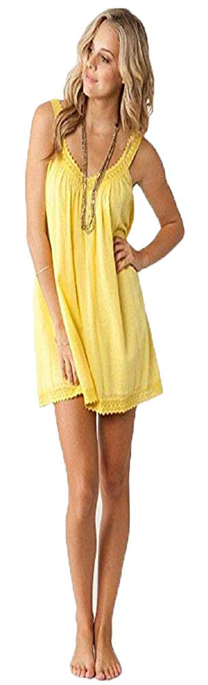 Available at Amazon: ONEILL Juniors Firefly Dress Banana Yellow Size Large