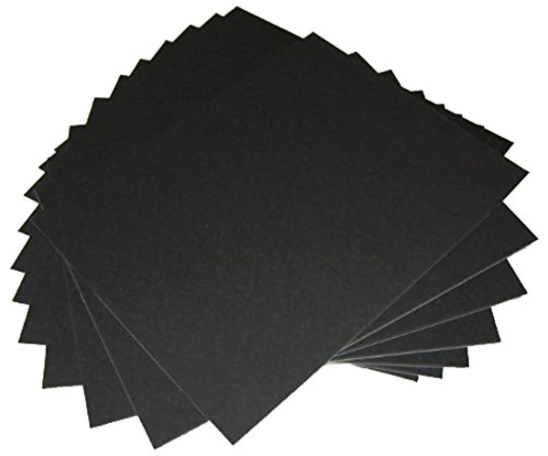 50 16x20 UNCUT mat matboard Black Color