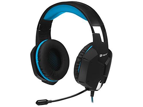 Tracer Dragon Gaming-Headset Kopfhörer mit Mikrofon Blau