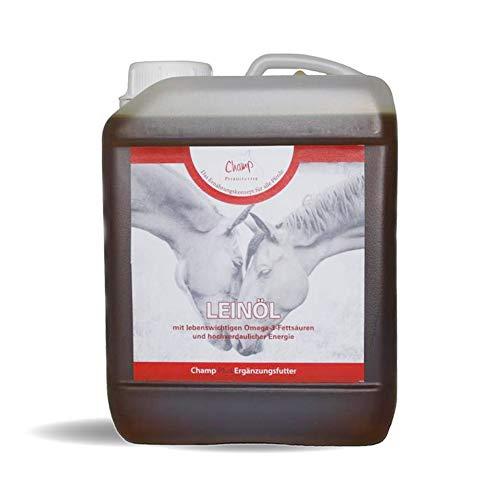 Champ Leinöl für Pferde, 2500 ml