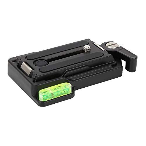 Camera snelkoppelingsplaat, universele metalen snelwisselplaat Klembasis voor DSLR-camera met 1/4