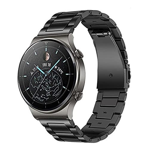 TRUMiRR Reemplazo para Huawei Watch GT 2 Pro/GT 2 46mm/GT Active/GT 2e Titan Pulsera, 22mm Correa de...