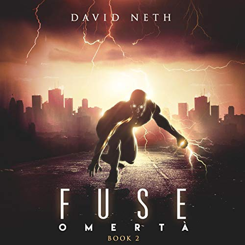 Omertà audiobook cover art