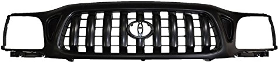 Front End Grille Grill Black for 01-04 Toyota Tacoma Pickup Truck