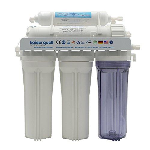 kaiserquell Wasserfilteranlage handgefertigt in Deutschland 5 stufig filtert PESTIZIDE MIKROPLASTIK und NITRAT Osmoseanlage Wasserfilter Wasserhahnfilter kalkfrei Mineralien