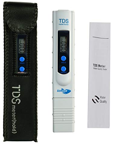 IONIX Imported Tds Meter for ro Water Testing Meter, Digital LCD Tds Meter Waterfilter Tester for Measuring Tds/Ppm with Carry Case, Tds Meter for ro Water Testing Best