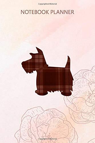Notebook Planner Scottie Dog Scottish Terrier Buchanan Tartan Plaid: Life, 6x9 inch, Financial, 114 Pages, Do It All, Journal, Pretty, Stylish Paperback